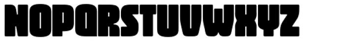 Vivala Black Extra Condensed Font UPPERCASE