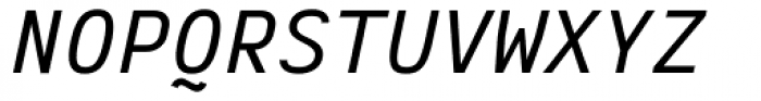 Vivala Code Italic Font UPPERCASE
