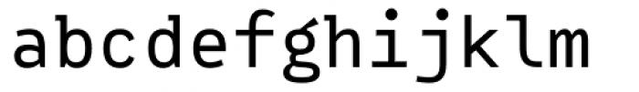 Vivala Code Regular Font LOWERCASE