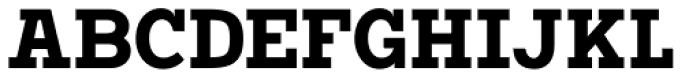Vivala G Slab Bold Condensed Font UPPERCASE