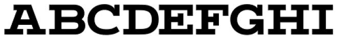 Vivala G Slab Bold Font UPPERCASE