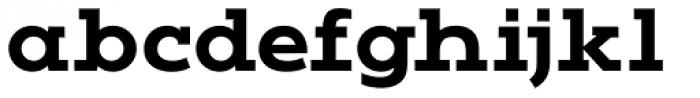 Vivala G Slab Bold Font LOWERCASE