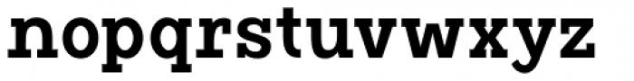 Vivala G Slab Demi Bold Condensed Font LOWERCASE