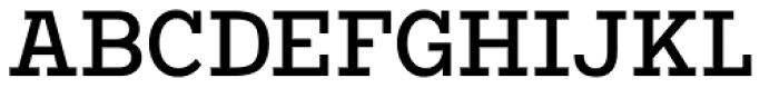 Vivala G Slab Medium Condensed Font UPPERCASE