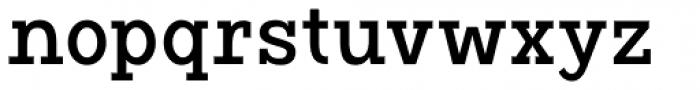 Vivala G Slab Medium Condensed Font LOWERCASE