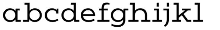 Vivala G Slab Normal Font LOWERCASE