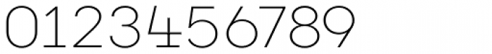 Vivala G Slab Thin Font OTHER CHARS