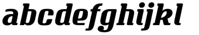 Vivala Milk Regular Italic Font LOWERCASE