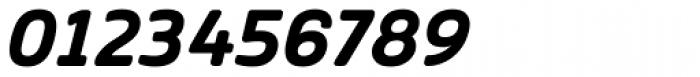 Vivala Sans Round Bold Italic Font OTHER CHARS