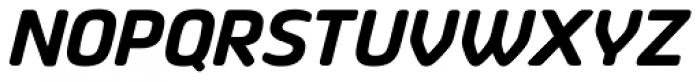 Vivala Sans Round Bold Italic Font UPPERCASE