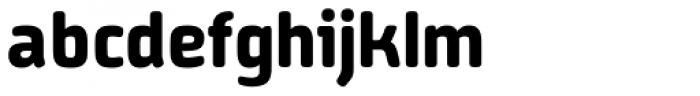 Vivala Sans Round Bold Font LOWERCASE