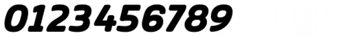 Vivala Sans Round ExtraBold Italic Font OTHER CHARS