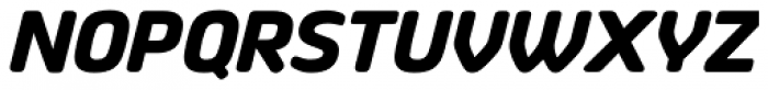 Vivala Sans Round ExtraBold Italic Font UPPERCASE