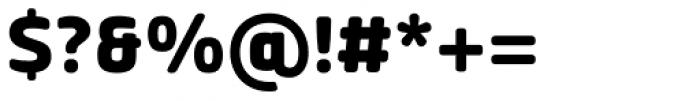 Vivala Sans Round ExtraBold Font OTHER CHARS
