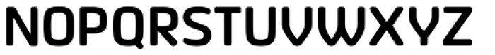 Vivala Sans Round SemiBold Font UPPERCASE