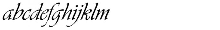 Vivaldi H Font LOWERCASE