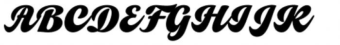 Vivian Script Regular Font UPPERCASE