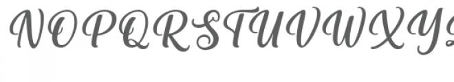 Vitalia Sesha Font UPPERCASE