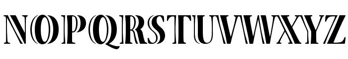 VivaStd-BoldCondensed Font UPPERCASE