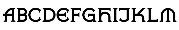 Vlaanderen Chiseled NF Font UPPERCASE