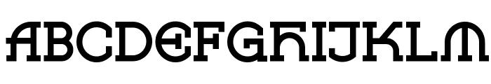 Vlaanderen Square NF Font UPPERCASE