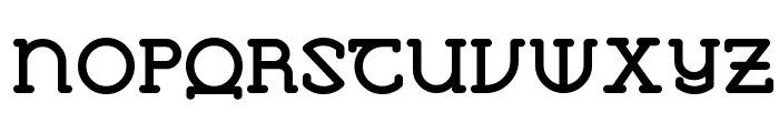 VlaanderenRound Font UPPERCASE
