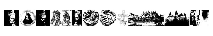 VladDraculBats Font LOWERCASE