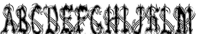 VladTepes II [Vlads Dad] Font UPPERCASE