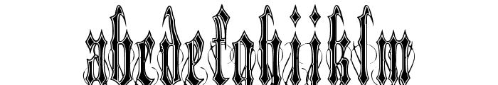 VladTepes II [Vlads Dad] Font LOWERCASE