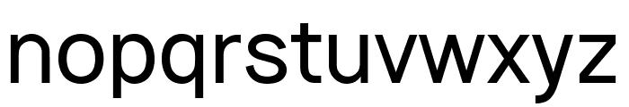 Vladivostok Regular Font LOWERCASE
