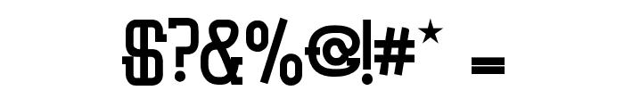 Vloderstone Black Font OTHER CHARS