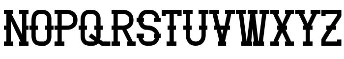 Vloderstone Black Font UPPERCASE