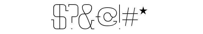 Vloderstone Lite Beta Font OTHER CHARS