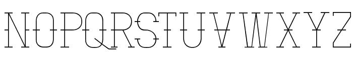 Vloderstone Lite Beta Font UPPERCASE