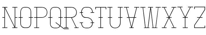 Vloderstone Font UPPERCASE