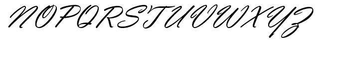 Vladimir Script Standard D Font UPPERCASE