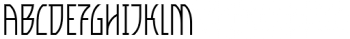 VLNL Bleek Light Font UPPERCASE