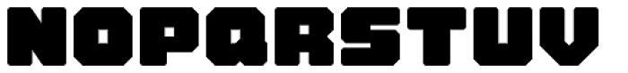 VLNL Brokken Font UPPERCASE