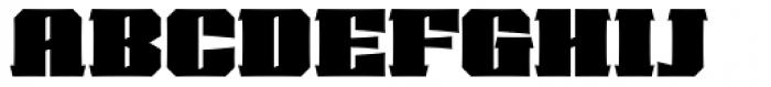 VLNL Cleaver Font UPPERCASE