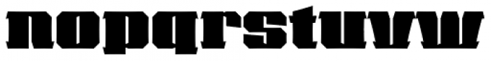 VLNL Cleaver Font LOWERCASE