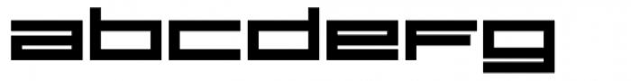 VLNL DBXLZX Bold Font UPPERCASE