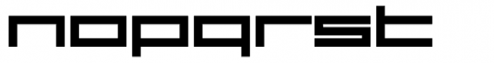 VLNL DBXLZX Bold Font LOWERCASE