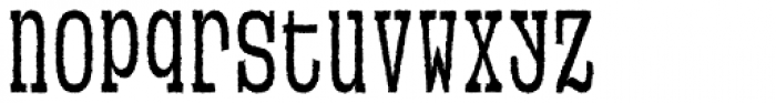 VLNL Neue Sardines Rough Cond Three Font LOWERCASE