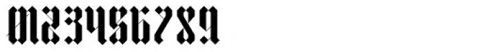 VLNL TpDuro Regular Font OTHER CHARS