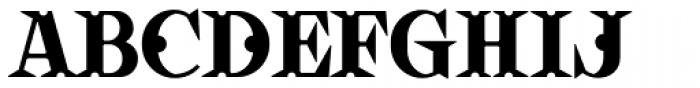 VLNL Vondelpark Font UPPERCASE