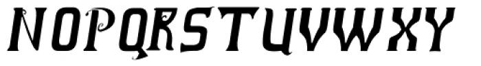 Vladimir Italic Font UPPERCASE