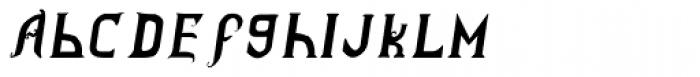 Vladimir Italic Font LOWERCASE