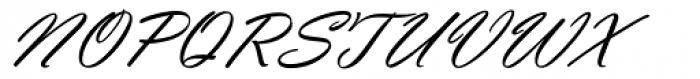 Vladimir Script Regular Font UPPERCASE