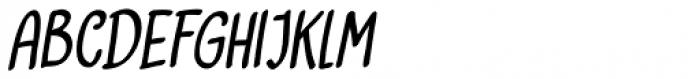 Vlinder Italic Font UPPERCASE
