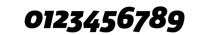 Agile BlackItalic Font OTHER CHARS